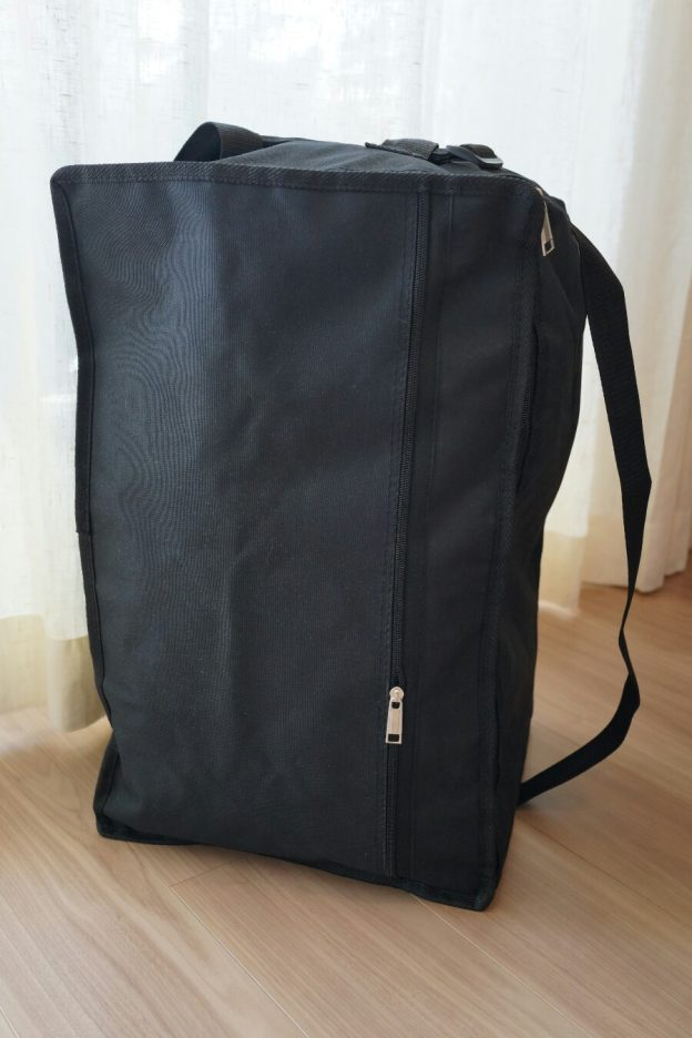 ボドゲ会用にセットしたカホンバッグです。 大箱がこんな感じで入ります