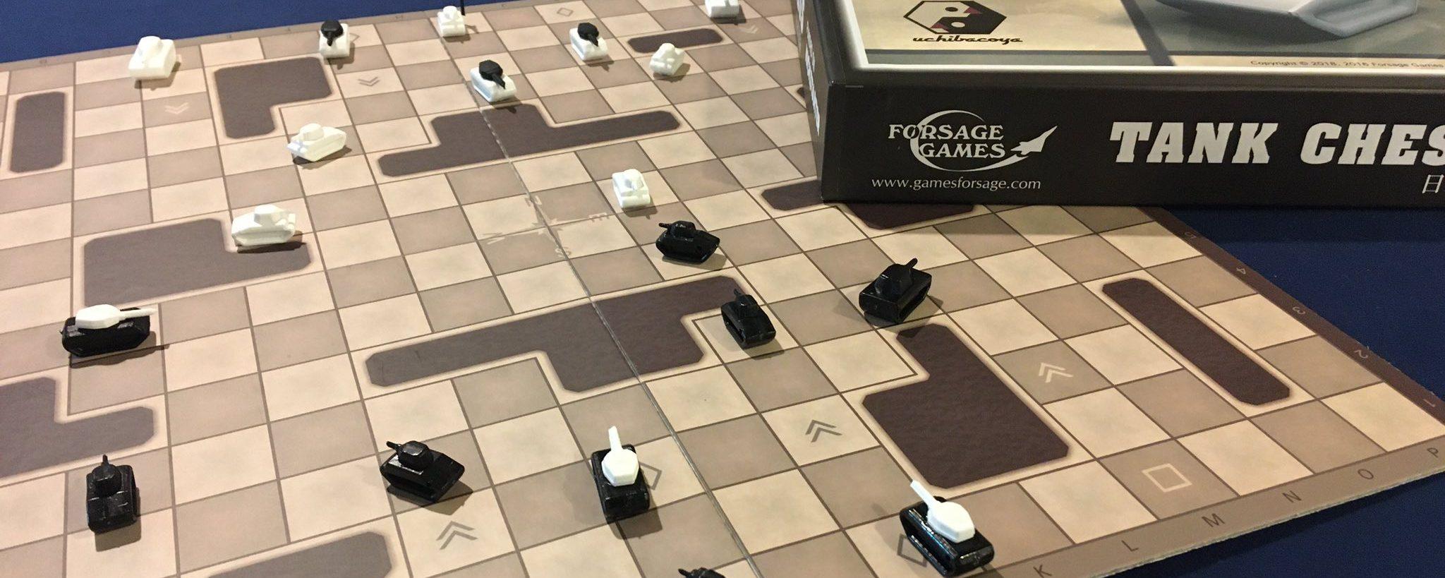緻密な頭脳戦が楽しめる・・!!「タンクチェス」