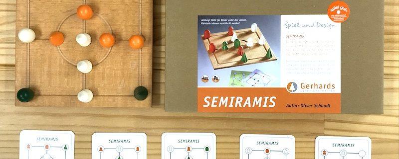 1人で遊べる木製ゲーム「セミラミス」
