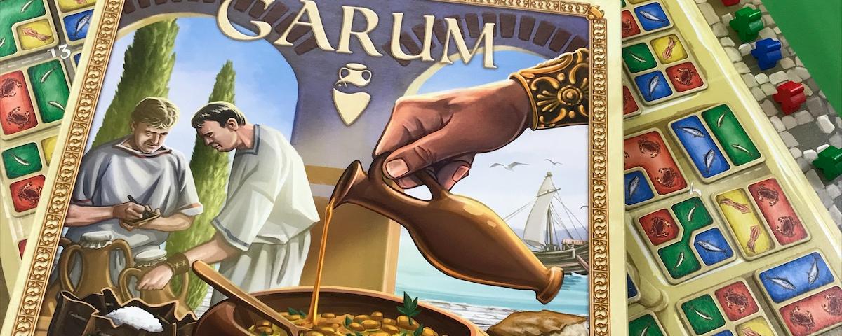食材のマジョリティを競うボードゲーム「ガルム」